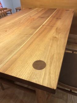 無垢材 クルミ テーブル