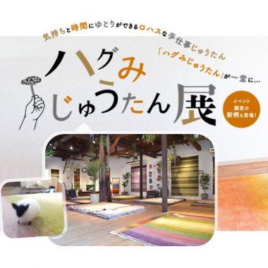 ハグみじゅうたん展 大阪