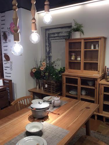 木積み木ランプ