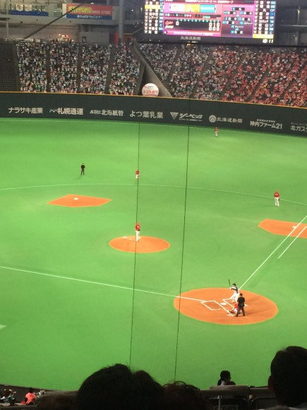 野球観戦 日本ハム