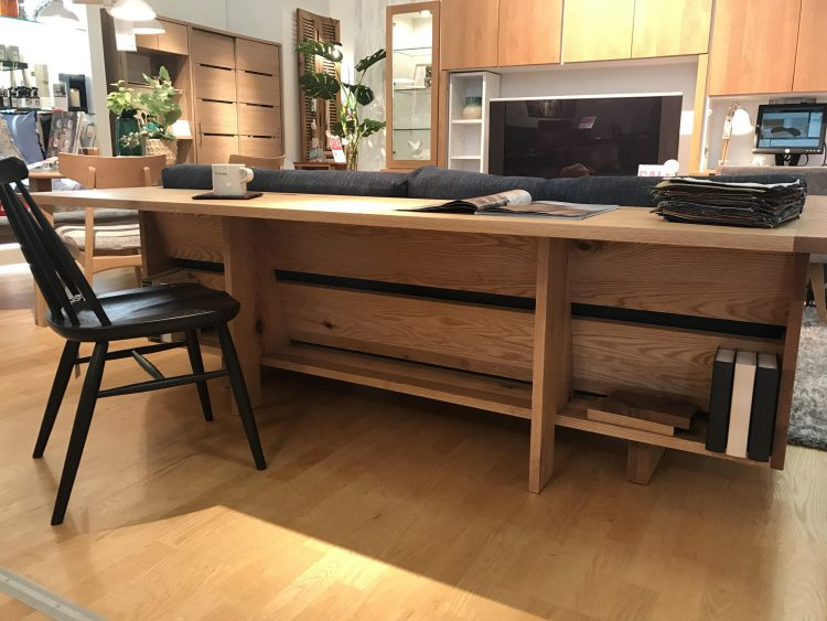 ソファ インテリア リビングハウス interior デコレーション 雑貨 小物 カウンターソファ 無垢材 ウッドフレーム